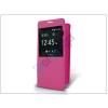 Samsung Samsung SM-G850 Galaxy Alpha S-View flipes tok - pink