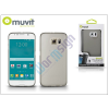 Samsung Samsung SM-G920 Galaxy S6 hátlap - Muvit ThinGel - smoke black