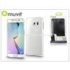Samsung Samsung SM-G928 Galaxy S6 Edge+ hátlap - Muvit Clear Back - clear