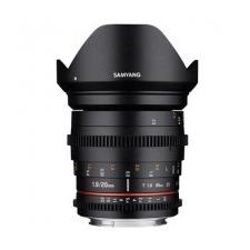 Samyang 20mm T1.9 VDSLR ED AS UMC Canon EOS videókamera kellék