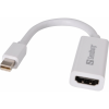 SANDBERG Mini DisplayPort HDMI Átalakító Fehér 5cm 508-96