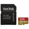 Sandisk memóriakártya microSDXC™ Mobile Extreme™ 128GB + adapter 160MB/s, 90MB/s UHS-I, V30, A2, C10, U3 + Rescue Pro De