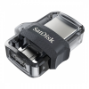 Sandisk mobil memória DUAL DRIVE m3.0, 16GB, 130MB/s (173383)