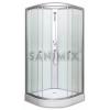 Sanimix 22.1762A 80x80x200cm negyedköríves zuhanykabin