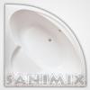 Sanimix Akril sarok fürdőkád