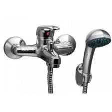 Sanimix GAEL 1 kád csaptelep zuhanyszettel lyukas fogantyú króm csaptelep