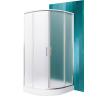 Sanipro Houston Neo 90x90 cm-es íves zuhanykabin Dream P tálcával