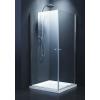 Sanotechnik Cikkszám: N1280 Elegance szögletes sarok zuhanykabin 80x80