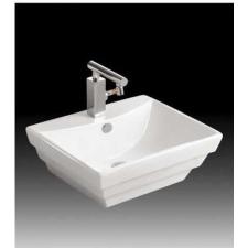 Sanotechnik K2259 Kerámiamosdó, síklapos, szögletes fürdőkellék