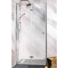 Sanotechnik 'Sanoflex Duet csukló zuhanyajtó' kád, zuhanykabin