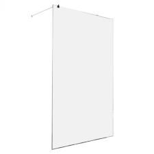 Sanotechnik Sanoflex Freedom II zuhanyfal fali profillal, távtartóval fürdőszoba kiegészítő