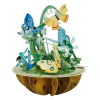 Santoro Pillangó & Sziatkötő Pirouettes 3D Képeslap - Pillangó & Szitakötő - PS044