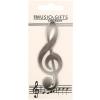 Santoro Violinkulcs Hűtőmágnes - Színes Hangszerek - FM09