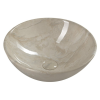 Sapho DALMA kerámiamosdó, 42x42x16,5cm, bézs márvány