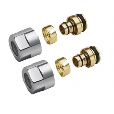 """Sapho Szoritógyűrű többrétegű csőhöz 1/2"""", ALUPLEX, 16mm,króm (CP6120) hűtés, fűtés szerelvény"""