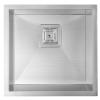 Sapho ZERO beépíthető mosogatótálca, 44x43x20cm, inox (EP339)