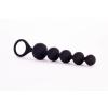Satisfyer Satisfyer Beads - gyöngyös anál dildó szett - fekete (2 részes)