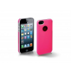 SBS Glass PVC tok - iPhone 5/5S - pink