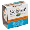 Schesir 6x70g Schesir természetes szószban nedves macskatáp-tonhal & aranydurbincs