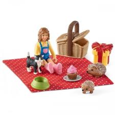 Schleich Születésnapi piknik játékfigura