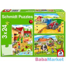 Schmidt: Farmon 3 az 1-ben puzzle puzzle, kirakós