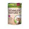 Schmusy Nature Kitten borjú és baromfi szószban - alutasak 24x100g