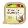 Schmusy Nature Macska Alutálkás Vad+Tonhal 100g