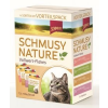 Schmusy Nature Vollwert-flakes Macska Alutasakos Multibox 12x100g