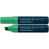 "SCHNEIDER Alkoholos marker, 4-12 mm, vágott, ""Maxx 280"", zöld"