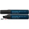 """SCHNEIDER Alkoholos marker, 4-12 mm, vágott, SCHNEIDER """"Maxx 280"""", fekete"""