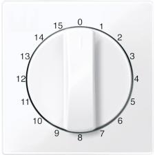 Schneider Electric Schneider MTN567425 aktív fehér (antibakteriális) burkolat 15 perces időkapcsoló betétekhez (Merten M-Smart, M-Plan, M-Elegance) villanyszerelés