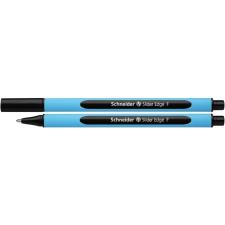 """SCHNEIDER Golyóstoll, 0,3 mm, kupakos, SCHNEIDER """"Slider Edge F"""", fekete toll"""