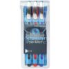 "SCHNEIDER Golyóstoll készlet, 0,7 mm, kupakos, SCHNEIDER ""Slider Memo"", vegyes színek"