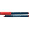 """SCHNEIDER """"Maxx 240"""" 1-2 mm kúpos piros alkoholos marker"""