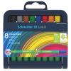 """SCHNEIDER Rostirón készlet, 1 mm, SCHNEIDER """"Link-it"""", összeilleszthető, 8 különböző szín"""