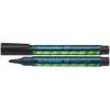 "SCHNEIDER Tábla- és flipchart marker, 1-3 mm, kúpos, SCHNEIDER ""Maxx Eco 110\"", fekete"