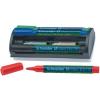 SCHNEIDER Tábla- és flipchart marker készlet, 1-3 mm, sziva