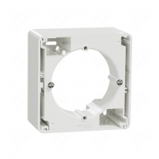 SCHNEIDER Új Sedna Egyes kiemelőkeret, sorolható, fehér SDD111901 villanyszerelés