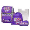 Schneiders Iskolatáska 4részes lila CANDY LOVE SCHNEIDERS +ajándék iskolai csomag