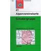 Schobergruppe turistatérkép - Alpenvereinskarte 41