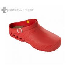 Scholl /Eredeti!/ Scholl Clog EVO piros papucs ütéscsillapító Memory Cushion talppal 37-41
