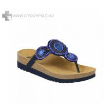 Scholl !Választható ajándékkal! Scholl Zarina kék női papucs bioprint technológiáva 37-39