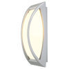 Schrack Technik SHRACK TECHNIK  MERIDIAN II, fali lámpatest, ezüstszürke, E27, max. 60W- LI230444