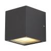 Schrack Technik SHRACK TECHNIK  SITRA CUBE fali lámpatest, antracit, GX53,max. 9W- LI232535