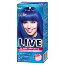 Schwarzkopf Live Ultra Brights 95 Vibráló kék hajszínező - Hajfesték ... fd033f29fe