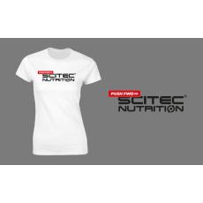 Scitec Nutrition Pushfwd női póló - fehér