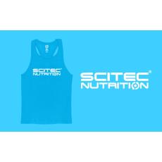 Scitec Nutrition SCITEC RACERBACK BLUE TANK TOP
