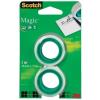 "Scotch Ragasztószalag, 19 mm x 7,5 m, 3M SCOTCH ""Magic tape 810"""