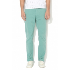 Scotch & Soda , Stuart Slim Fit Chino nadrág levehető övvel, Perzsazöld, W32-L32 (18010180403-1956-W32-L32)