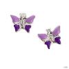 scout Gyerek fülbevaló ékszer ezüst pillangó lila Mädchen 262129100